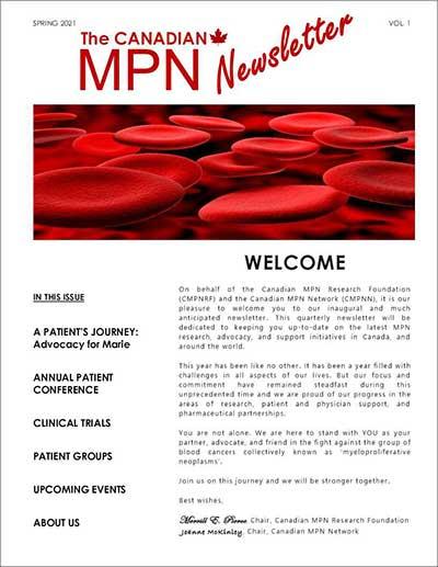 Spring 2021 MPN Newsletter